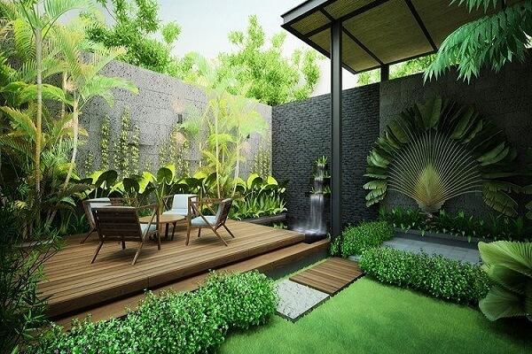 Thiết kế sân vườn phù hợp với nữ Quý Hợi