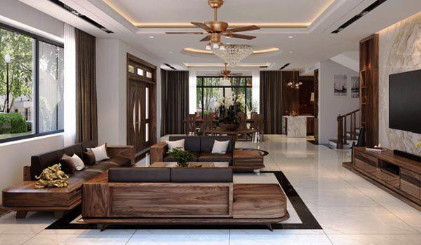 Trang trí và sắp xếp đồ đạc trong phòng khách