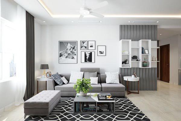 Xu hướng Thiết phòng khách đơn giản với những gam màu trung tính nhẹ nhàng