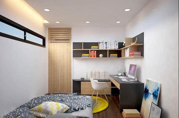 Phòng ngủ của bé trai từ 10 đến 12 tuổi nên tận dụng tối đa ánh sáng thiên nhiên