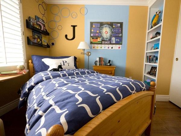 Tính thẩm mỹ phải đi kèm với tiện nghi trong thiết kế phòng ngủ