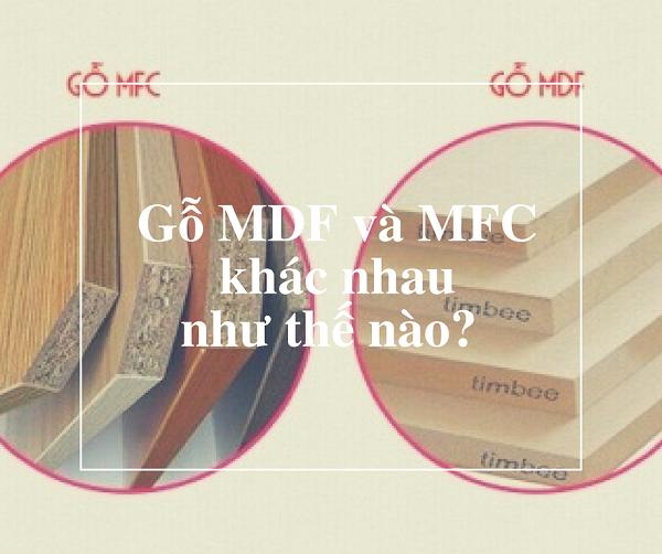 phân biệt ván gỗ MFC và MDF qua độ dày của cốt gỗ