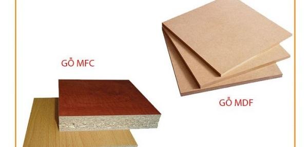 phân biệt ván gỗ MFC và MDF qua giá thành