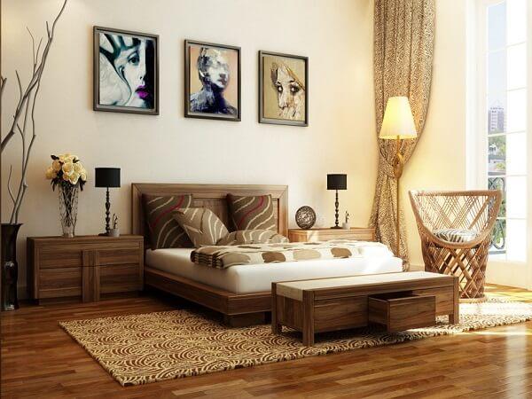 Lựa chọn họa tiết cho thảm trải sàn phòng ngủ thật cẩn thận