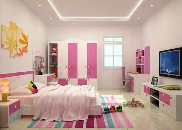 Lựa chọn thảm trải sàn phòng ngủ cho bé trai, bé gái