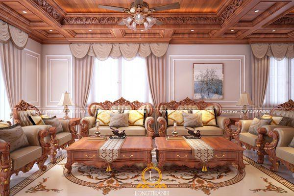 Sofa tân cổ điển - Mẫu sofa sang trọng nhất cho phòng khách